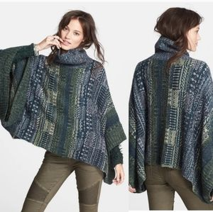 Free People Willow knit poncho